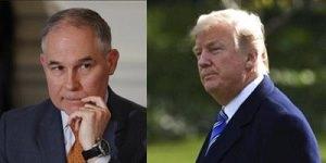 Pruitt and Trump